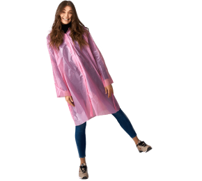 Дождевик-плащ «Люкс» розовый