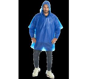 Дождевик-пончо «Комфорт» синий