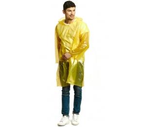 Дождевик-плащ «Стандарт» жёлтый