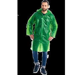 Дождевик-плащ «Люкс» зеленый