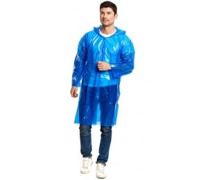 Дождевик-плащ «Стандарт» синий