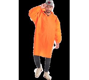 Дождевик-плащ «Артик» оранжевый флюр